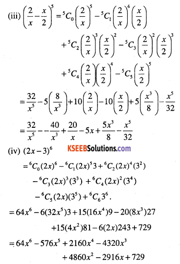1st PUC Maths Question Bank Chapter 8 Binomial Theorem 5