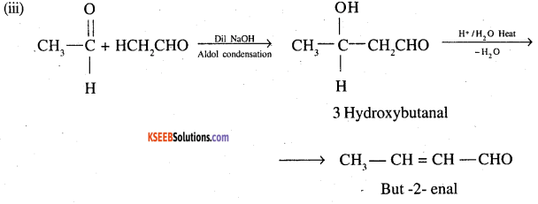 2nd PUC Chemistry Question Bank Chapter 12 Aldehydes, Ketones and Carboxylic Acids - 100