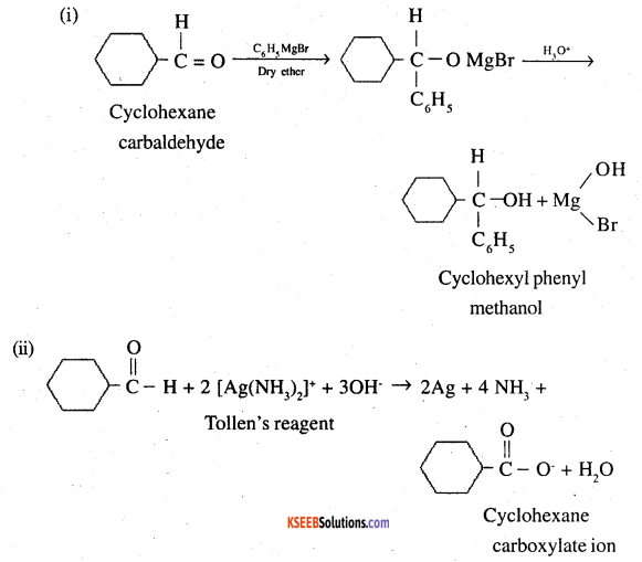 2nd PUC Chemistry Question Bank Chapter 12 Aldehydes, Ketones and Carboxylic Acids - 20