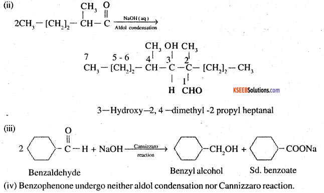 2nd PUC Chemistry Question Bank Chapter 12 Aldehydes, Ketones and Carboxylic Acids - 25
