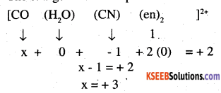 2nd PUC Chemistry Question Bank Chapter 9 Coordination Compounds - 10