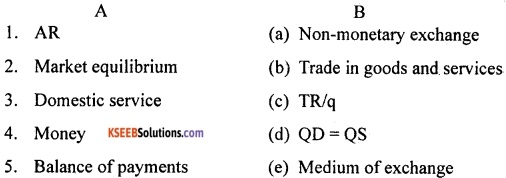 2nd PUC Economics Model Question Paper 3 with Answers image - 1