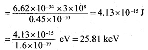2nd PUC Physics Question Bank Chapter 11 Dual Nature of Radiation and Matter 27