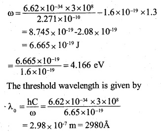 2nd PUC Physics Question Bank Chapter 11 Dual Nature of Radiation and Matter 32