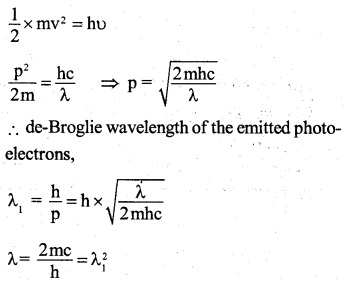 2nd PUC Physics Question Bank Chapter 11 Dual Nature of Radiation and Matter 50