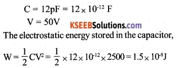 2nd PUC Physics Question Bank Chapter 2 Electrostatic Potential and Capacitance 13