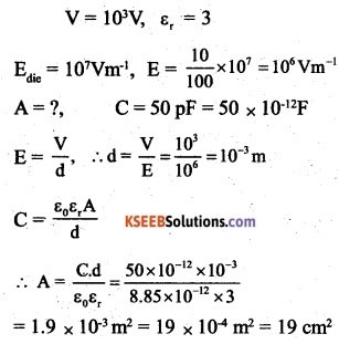 2nd PUC Physics Question Bank Chapter 2 Electrostatic Potential and Capacitance 46