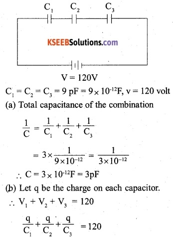 2nd PUC Physics Question Bank Chapter 2 Electrostatic Potential and Capacitance 8