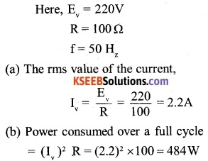 2nd PUC Physics Question Bank Chapter 7 Alternating Current 1