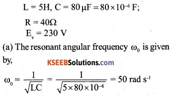 2nd PUC Physics Question Bank Chapter 7 Alternating Current 12