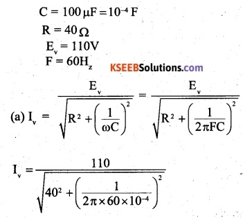 2nd PUC Physics Question Bank Chapter 7 Alternating Current 19