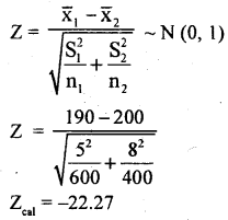 2nd PUC Statistics Model Question Paper 1 with Answers - 18