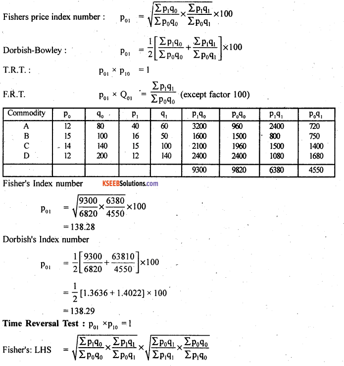 2nd PUC Statistics Model Question Paper 2 with Answers - 27
