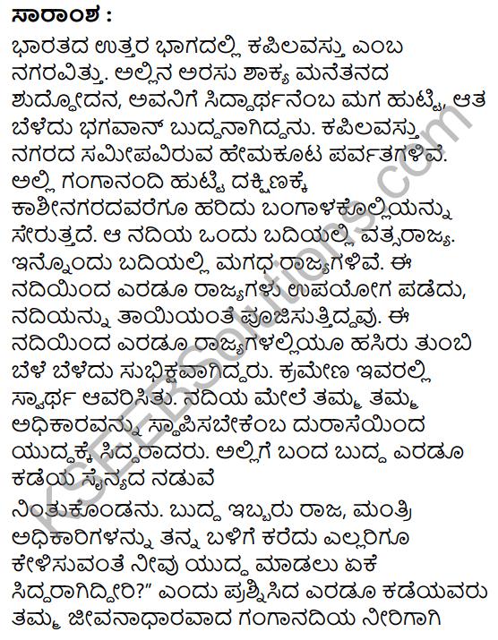 Buddhana Salahe Summary in Kannada 3