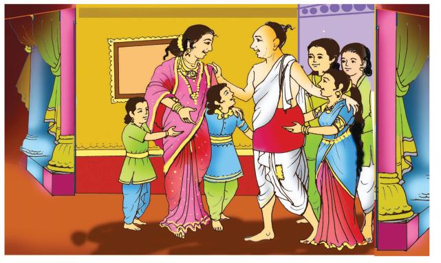 Krishna Sudhama Summary in Kannada 7