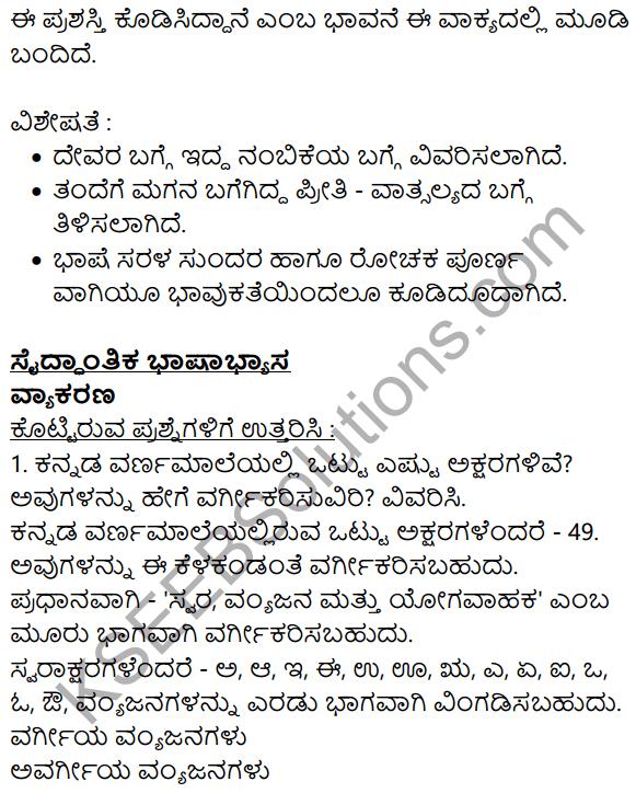 Siri Kannada Text Book Class 8 Solutions Gadya Chapter 1 Maggada Saheba 11