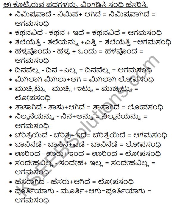 Siri Kannada Text Book Class 8 Solutions Gadya Chapter 3 Talakadina Vaibhava 14