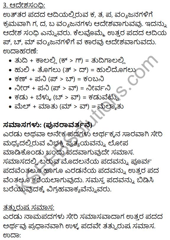Siri Kannada Text Book Class 9 Solutions Gadya Chapter 1 Kannada Moulvi 9