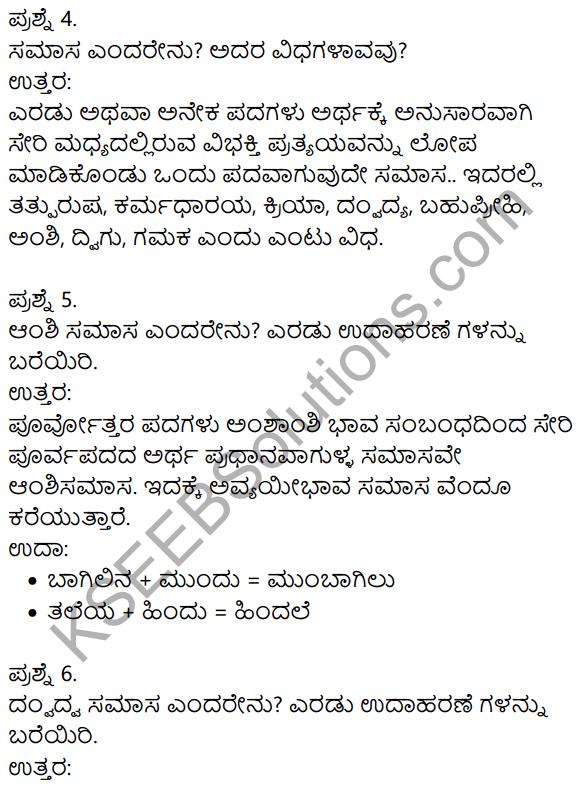 Siri Kannada Text Book Class 9 Solutions Gadya Chapter 2 Bedagina Tana Jayapura 13