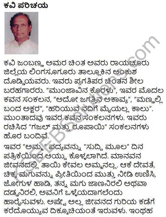 Amma Summary in Kannada 9
