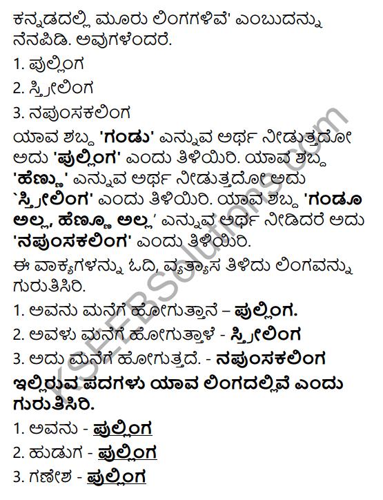 Tili Kannada Text Book Class 6 Solutions Padya Chapter 3 Nammura Kere 10