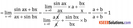 2nd PUC Basic Maths Question Bank Chapter 17 Limit and Continuity of a Function Ex 17.2 - 16