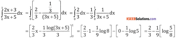 2nd PUC Basic Maths Question Bank Chapter 21 Definite Integral and its Applications to Areas Ex 21.1 - 6