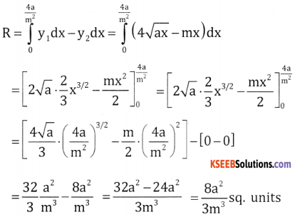 2nd PUC Basic Maths Question Bank Chapter 21 Definite Integral and its Applications to Areas Ex 21.2 - 14
