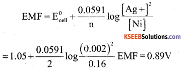 2nd PUC Chemistry Model Question Paper 3 with Answers 19