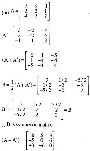 2nd PUC Maths Question Bank Chapter 3 Matrices Ex 3.3 15