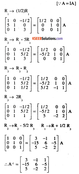 2nd PUC Maths Question Bank Chapter 3 Matrices Ex 3.4 24