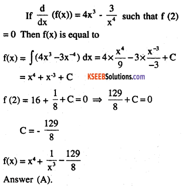 2nd PUC Maths Question Bank Chapter 7 Integrals Ex 7.1.20