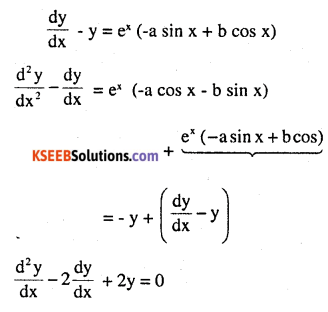 2nd PUC Maths Question Bank Chapter 9 Differential Equations Miscellaneous Exercise 2