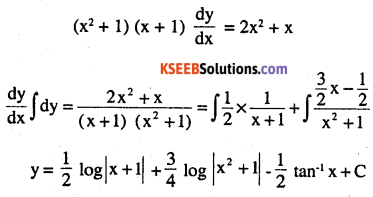 2nd PUC Maths Question Bank Chapter 9 Differential Equations Miscellaneous Exercise 30