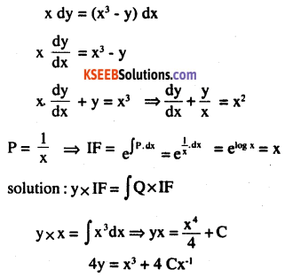 2nd PUC Maths Question Bank Chapter 9 Differential Equations Miscellaneous Exercise 43