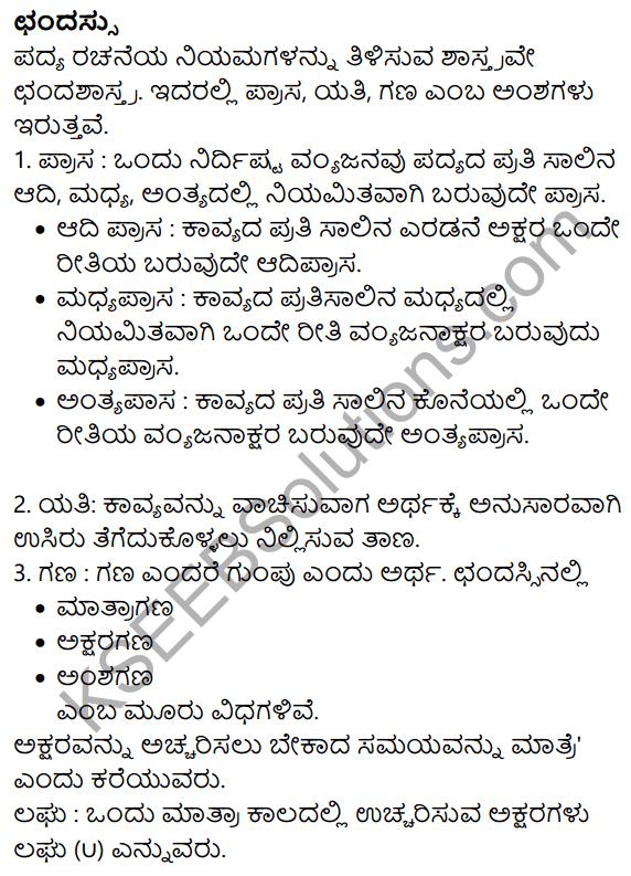 Nudi Kannada Text Book Class 10 Solutions Chapter 10 Udara Vairagya 8