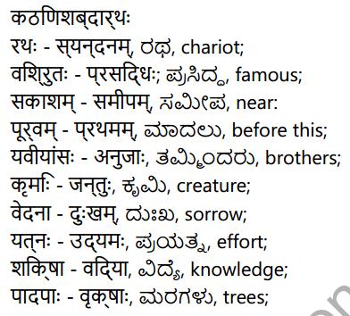 कर्णभारम् Summary in Kannada 2