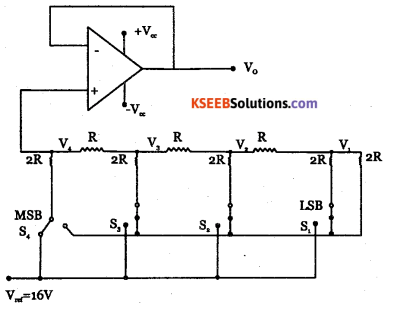 2nd PUC Electronics Model Question Paper 3 with Answers 1