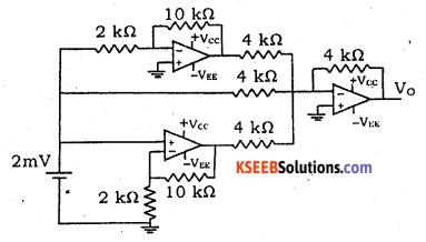2nd PUC Electronics Model Question Paper 3 with Answers 8