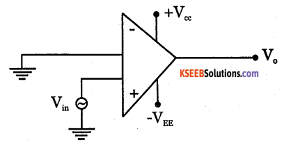 2nd PUC Electronics Question Bank Chapter 5 Operational Amplifiers(OP-Amp) 56