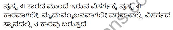 KSEEB Solutions for Class 10 Sanskrit नंदिनी Chapter 3 विसर्गसन्धिः 7
