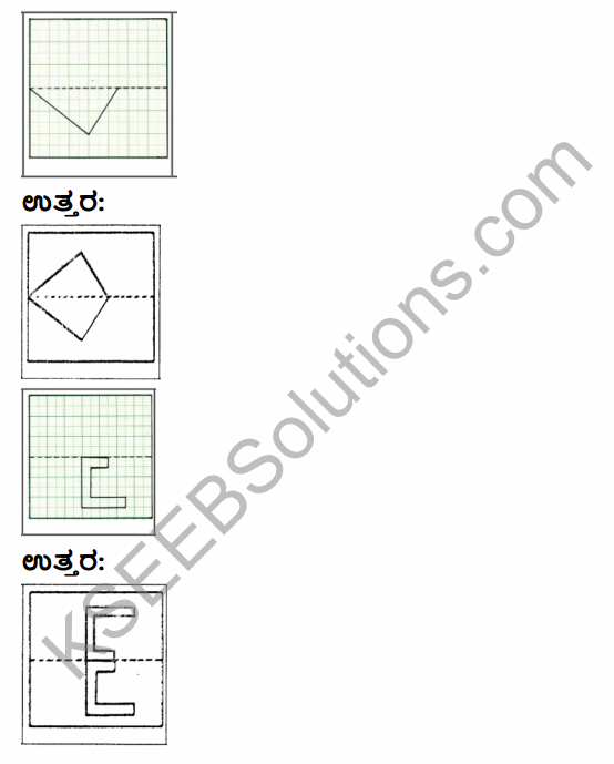 KSEEB Solutions for Class 4 Maths Chapter 16 Patterns and Symmetry in Kannada 12