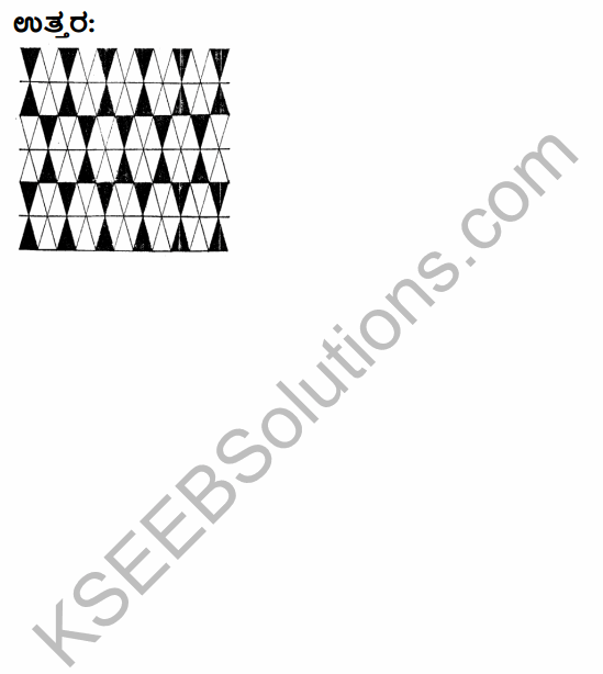 KSEEB Solutions for Class 4 Maths Chapter 17 Tangrams and Designs in Kannada 6