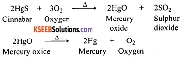 KSEEB Class 10 Science Important Questions Chapter 3 Metals and Non-metals 27