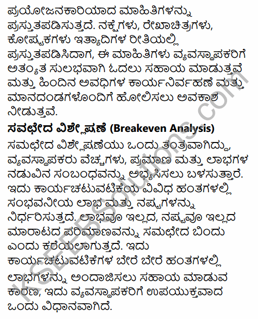 2nd PUC Business Studies Question Bank Chapter 8 Controlling in Kannada 19