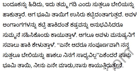 I am the Land Poem Summary in Kannada 2