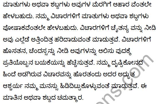 The Wonderful Words Poem Summary in Kannada 2