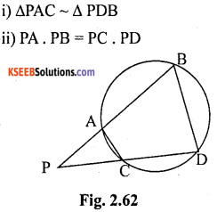 KSEEB Solutions for Class 10 Maths Chapter 2 Triangles Ex 2.6 17