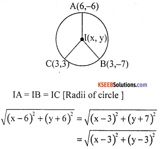 KSEEB Solutions for Class 10 Maths Chapter 7 Coordinate Geometry Ex 7.4 3