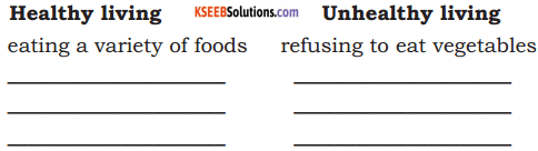 KSEEB Solutions for Class 7 English Prose Chapter 1 Healthy Life 9